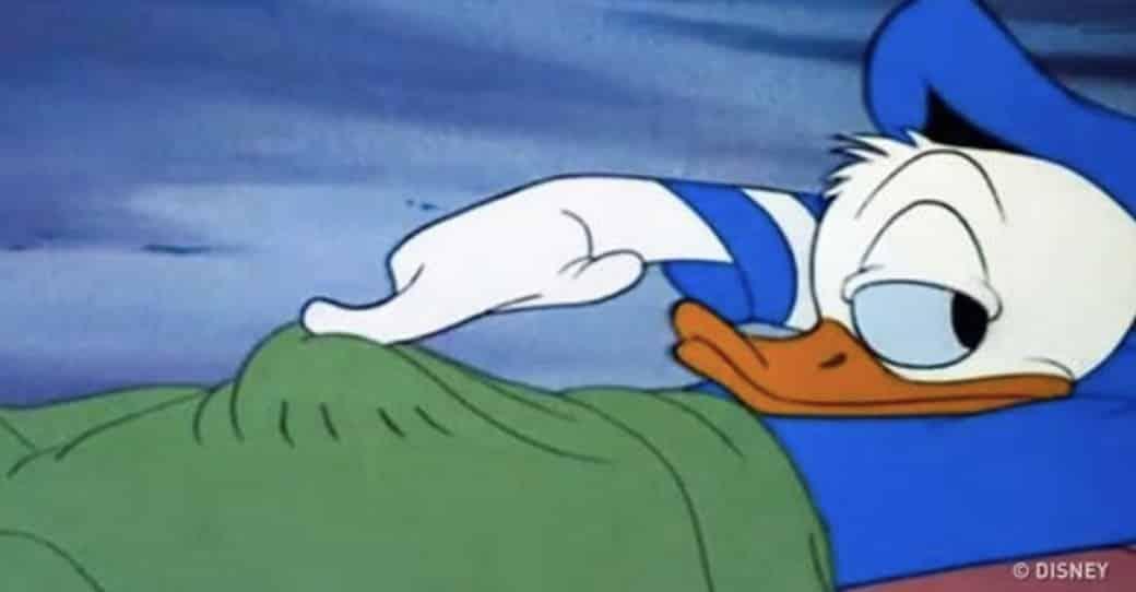 Pato Donald - mente suja