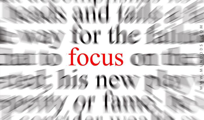Use o poder do foco