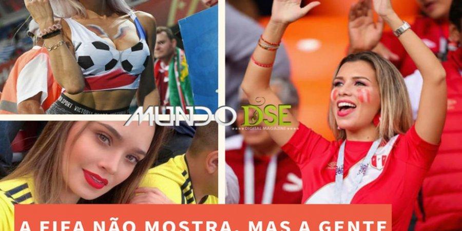 Mulheres bonitas jogos da copa do mundo