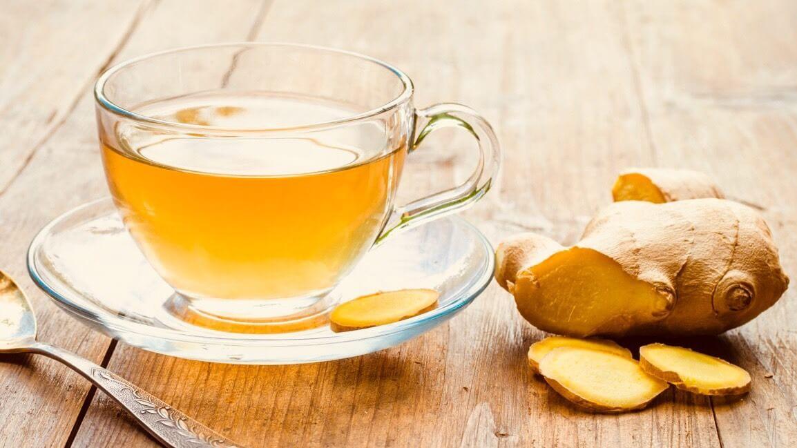 Chá de Gengibre bom para saúde
