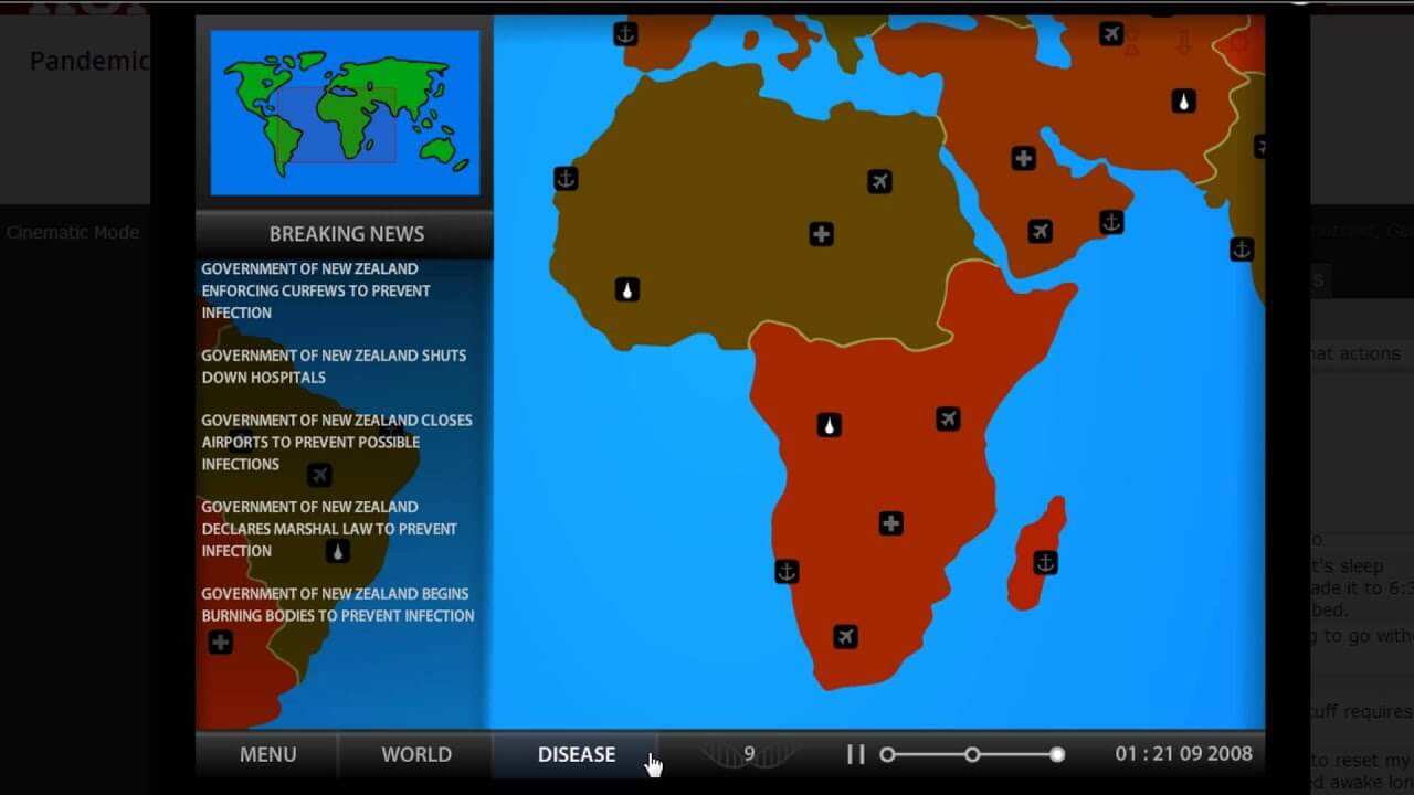 Jogo Pandemia 2 (Pandemic)