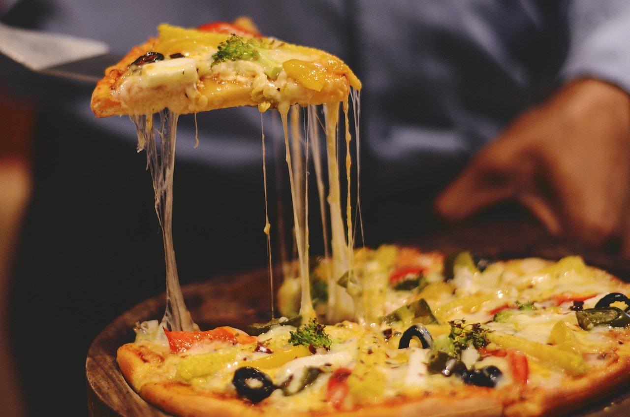 Pizza é campeã de pedidos