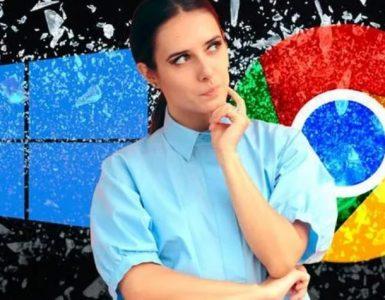Windows 10 - Google Chrome
